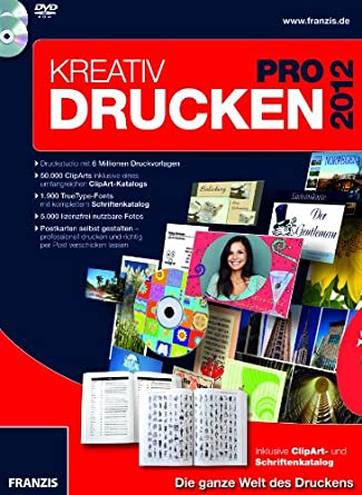 Kreativ Drucken Pro 2012: Amazon.de: Software