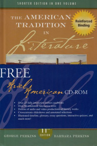 The American Tradition in Literature (Concise) MP w American Ariel CD (NASTA Hardcover Reinforced High School Binding) by George Perkins (A/P AMERICAN LITERATURE)