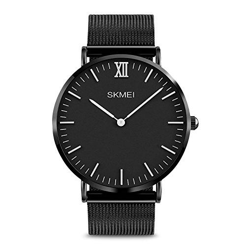 Numerals Wristwatch Waterproof Stainless Resistant