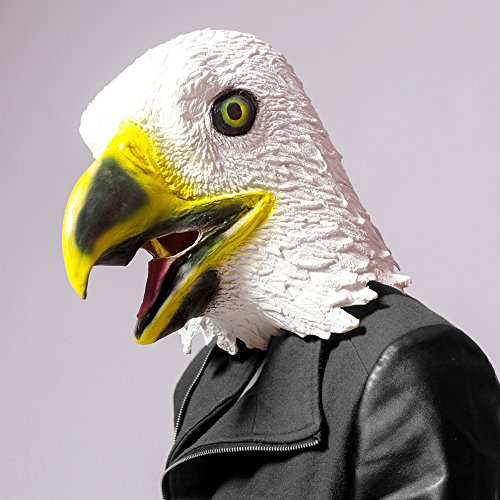 CreepyParty Novelty Halloween Costume Party Latex Birds Head Mask (Eagle) (Halloween Costumes For Halloween Party)
