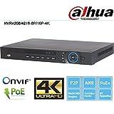 Dahua NVR4216-16P-4K 16 Channel 1U 16PoE 4K & H.265 Lite Network Video Recorder IP NVR DVR XVR Surveillance System