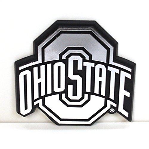 1.5 Ton Window (Ohio State Buckeyes Silver Tone Auto Emblem)