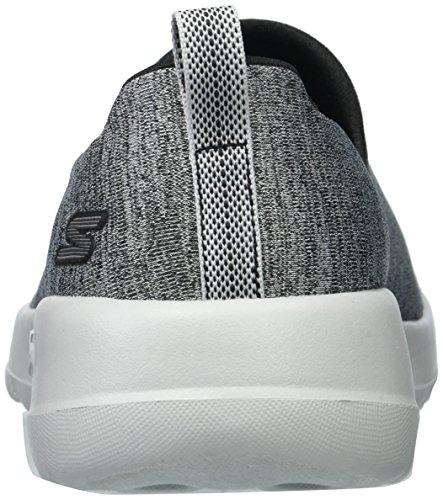 Skechers Vrouwen Gaan Lopen Joy-15611 Brede Sneaker Zwart / Grijs