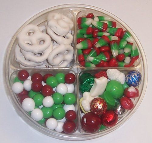 Scott's Cakes 4-Pack Deluxe Christmas Mix, Dutch Mints, Reindeer Corn, & White Pretzels by Scott's Cakes