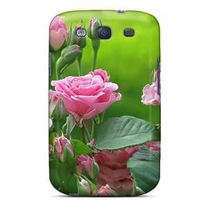 Mwaerke Slim Fit Tpu Protector FIFRLPx1069bzCST Shock Absorbent Bumper Case For Galaxy S3