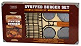 Charcoal Companion Essential Grilling Kit: Stuffed Burger Set, Pro Series