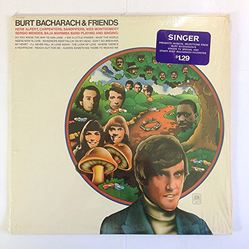 Burt Bacharach & Friends [VINYL LP] - Montgomery Mall Stores