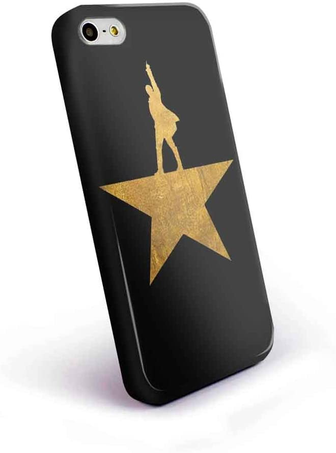 Hamilton Logo Gold for iPhone 5/5s Black Case