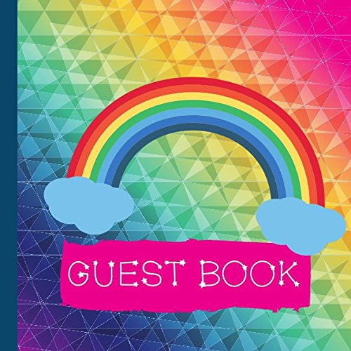Guest Book: Rainbow Baby Shower Guest