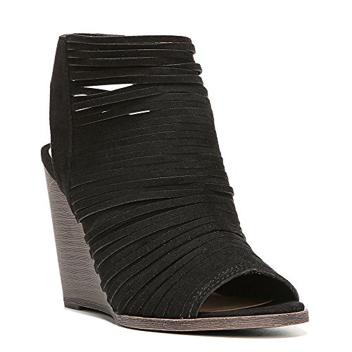 Fergalicious Women's Heather2 Wedge Sandal Black sale how much 4241nG