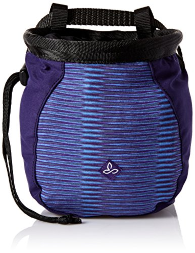 prAna Women's Large Chalk Bag With Belt, One Size, Bluebell Ziggie