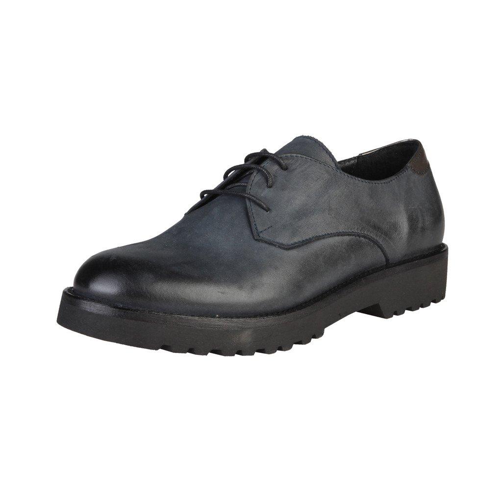 Made In Italia Shoes, Zapatos de Cordones Derby para Mujer 37 EU Azul