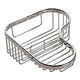Ginger 504L/PN Splashables Combination Shower Basket Polished Nickel Large Corner