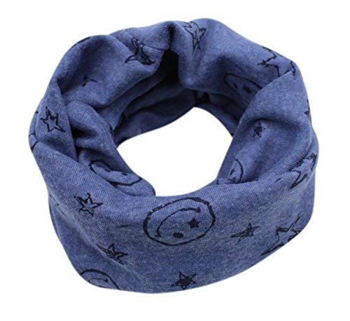 (2-7Y)Kids Boys & Girls Fashion Winter Infinity Scarf Star Warm Neck Warmer