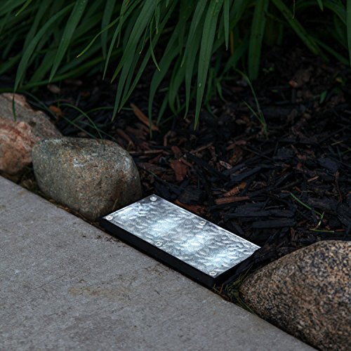 Solar Powered Led Brick Paver Landscape Light