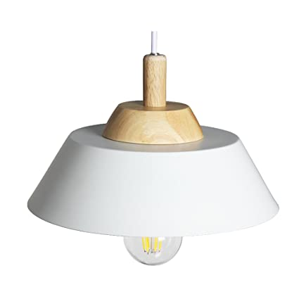 DFMD Pequeñas lámparas de LED, lámpara de Techo de Hierro de ...