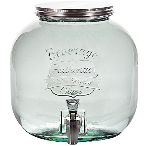 Couronne Company Small Authentic Glass Jar with Spigot G5...