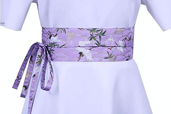 7b59ff50b35d Blancho Kimono Obi Yukata Obi Ceinture Ceinture Modèle Harajuku  Amazon.fr   Vêtements et accessoires