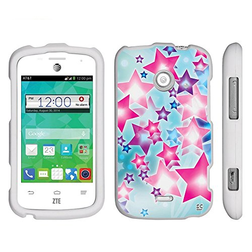 zte prelude blue phone case - 9