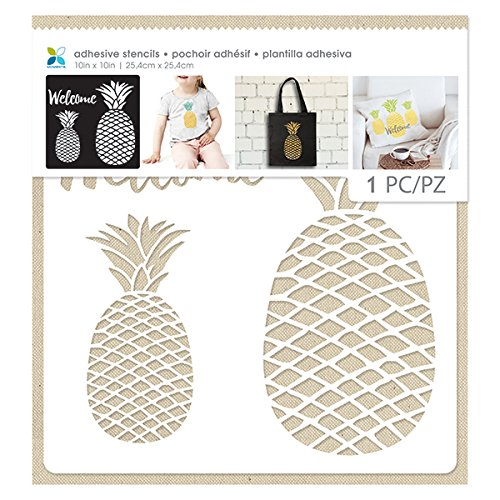Momenta 28748 Pineapple Adhesive Stencil product image