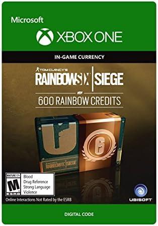 Amazon com: Tom Clancy's Rainbow Six Siege Currency pack 600