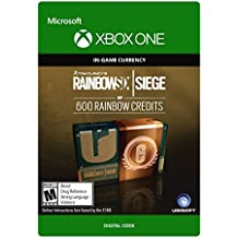 Tom Clancy's Rainbow Six Siege Currency pack 600 Rainbow credits - Xbox One [Digital Code]