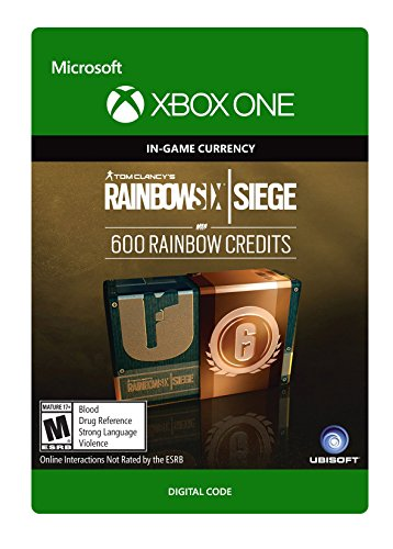 Tom Clancys Rainbow Six Siege Currency Pack 600 Rainbow Credits   Xbox One  Digital Code