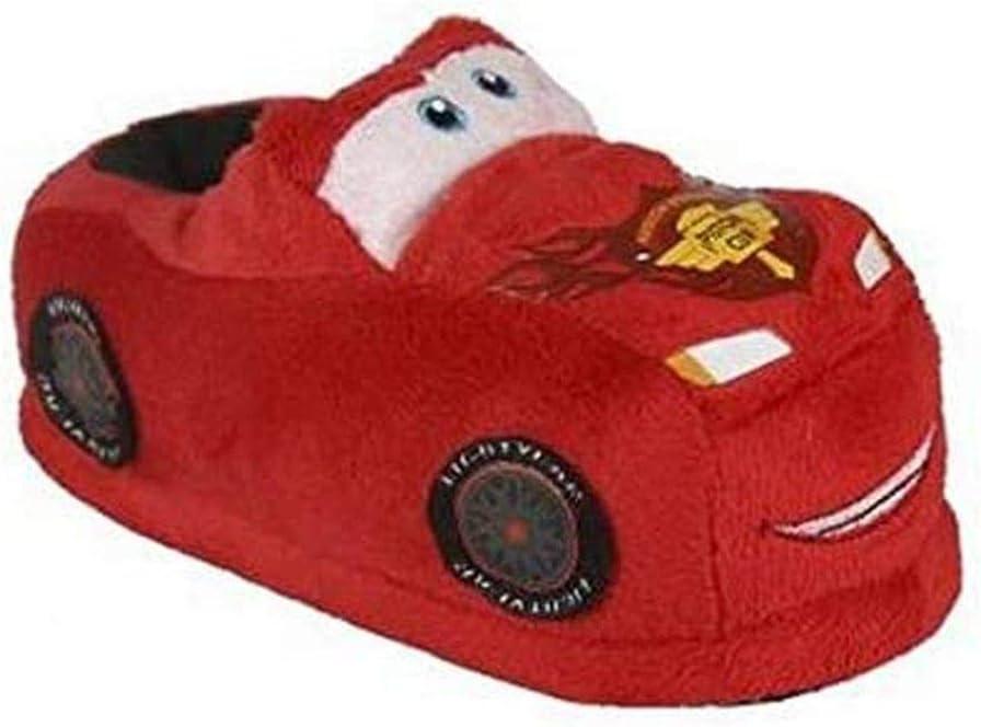 talla 24 Zapatillas de Estar Por Casa 3D Cars 7696