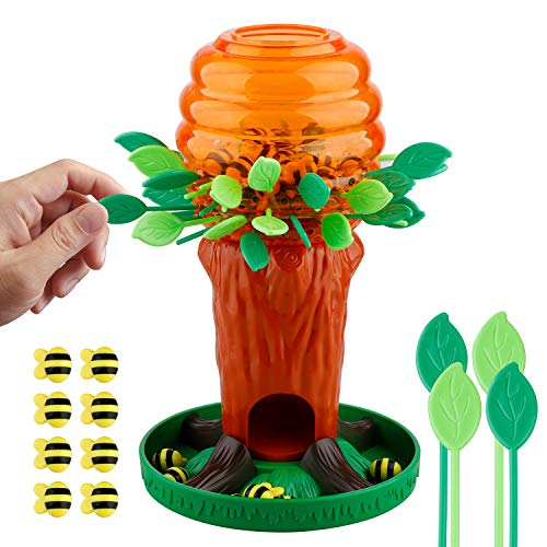 - Honey Bee Tree Game, Fun Parent-Child Interactive Games, Intellectual Toys -Please Don't Wake the Bees 2 to 4 Players, Ages 3 and Up