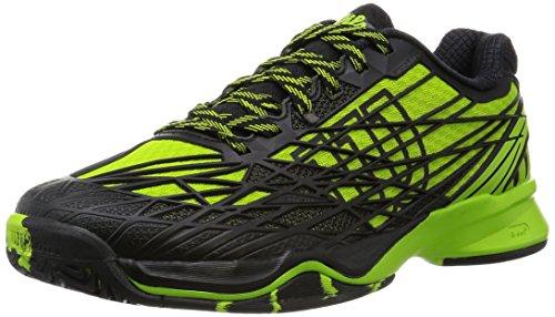 Wilson Kaos Mens All Court Tennis Shoe Green/Black 4xr6Bsjp