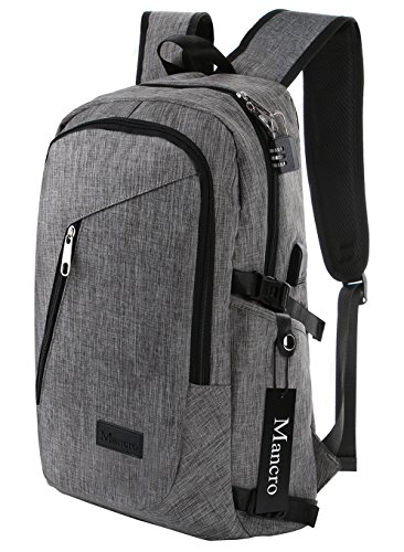 Mancro Water Resistant Polyester Laptop Backpack