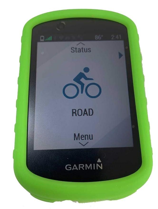 TUFF LUV Silikon Schutzhülle und Schirm-Schutz für Garmin Edge 830 GPS Schwarz