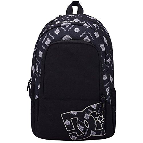 DC Mens Detension Backpack One Size Ethnic Print/Black (Dc Shoes Mens Backpack)