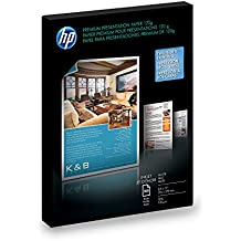 HP Premium Presentation Paper for Inkjet Printer, Matte, 8.5x11, 100 Sheets