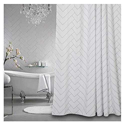 Aimjerry Fabirc Shower Curtain for Bathroom