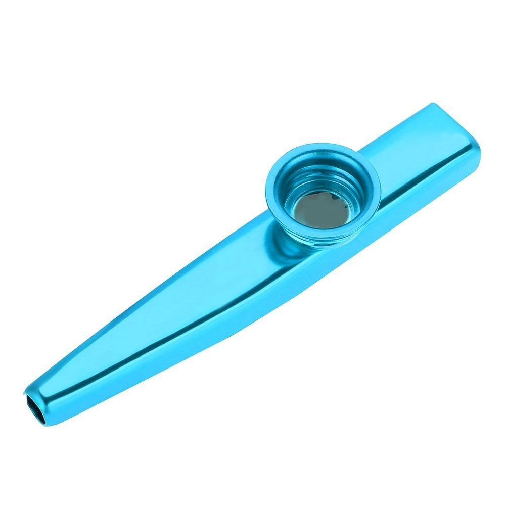Instrument de Musique Kazoo Adulte Enfants Aluminium Bouche Fl/ûte Kazoo Instrument de Musique Jouet