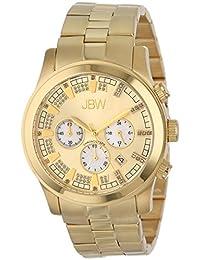 "JBW Men's JB-6218-E ""Delano"" Gold-Tone Chronograph Diamond Watch"