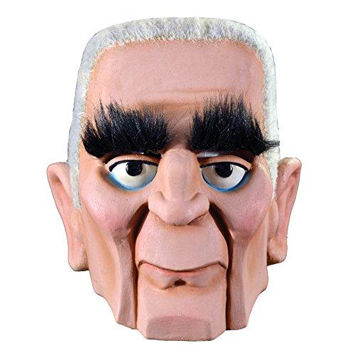 Mad Monster Masks (Trick or Treat Studios Men's Mad Monster Party-Baron Von Frankenstein Mask, Multi, One)