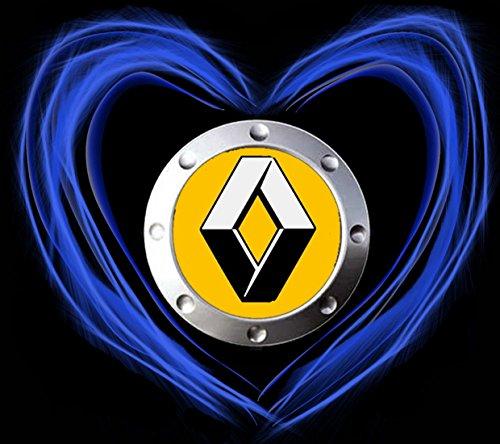Renault Love Logo AUTO FUN T-SHIRT -790