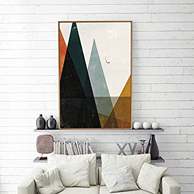 signwin Framed Canvas Wall Art Nordic Abstract Canvas Prints Home Artwork Decoration for Living Room,Bedroom - 16x24… -  - wall-art, living-room-decor, living-room - 51RGhkFJQ3L. SS400  -