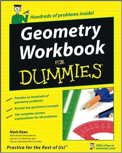 Amazon Geometry Workbook For Dummies 8601300291741 Mark Ryan