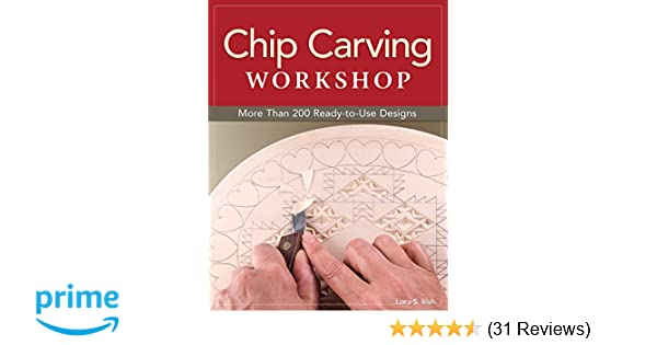 Chip carving workshop more than ready to use designs fox