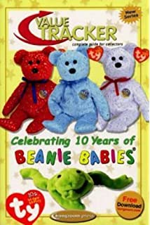77fbd71aec2 Beanie Baby Book  Value Tracker Complete Guide for Collectors Celetrating  10 years of Beanie Babies