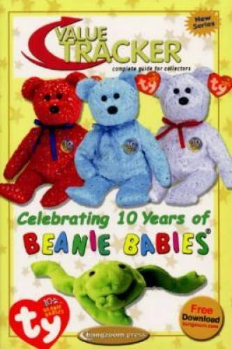 81ed2f0aadf Beanie Baby Book  Value Tracker Complete Guide for Collectors Celetrating  10 years of Beanie Babies Bangzoom (Ty Beanies Tracker  1st Edition