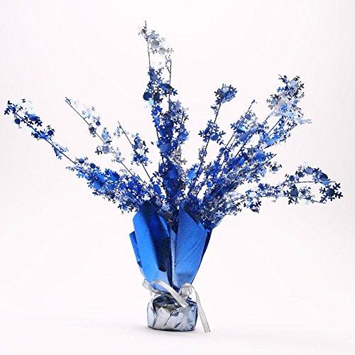 (Beistle 20806 1-Pack Snowflake Gleam 'N Burst Centerpiece,)