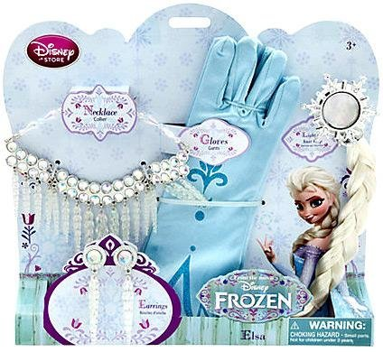 Accessories set of Disney frozen limited Ana and The Snow Queen Princess Elsa Disney Frozen EXCLUSIVE Costume Accessory Set Elsa parallel import (Grown Up Princess Costumes)