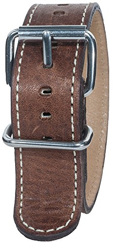 Bertucci B-128M Montanaro Survival Horween Leather Nut Brown - Bertucci Watch Bands Leather