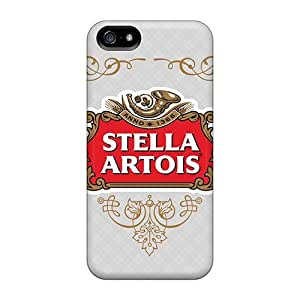Shockproof Hard Phone Cases For Iphone 5/5s (Fvn18326LNDW) Customized Lifelike Stella Artois Series