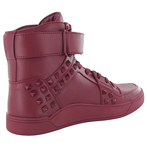 Steve Madden Mens Aster High Top Sneaker Shoes Red xM35v4t