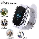 Original Kids GSM GPS Tracker Hangang For Children Kid Smart watch Phone Smart bracelet T58 Children Watches Anti-lost Tracker Locator (silver)